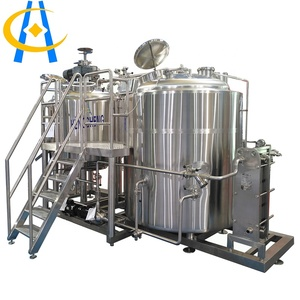 Hengcheng commercial beer crafting brewery equipment 1000l/500l/200l home brew