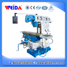X6436A CE vertical and horizontal small universal milling machine