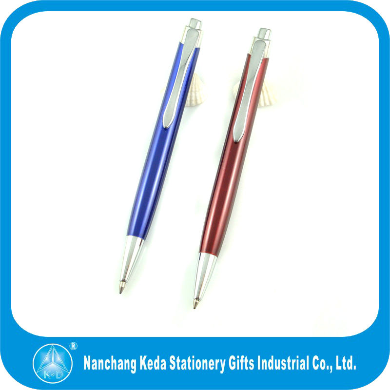 2014 Engraved Designs Delicate Beautiful metal cheaper ballpen