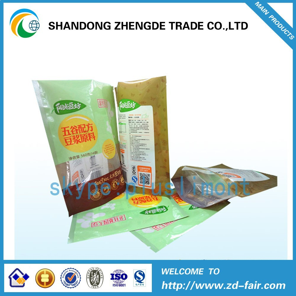 2015 Shan Dong Plastic Food Packaging Bag Made In China
