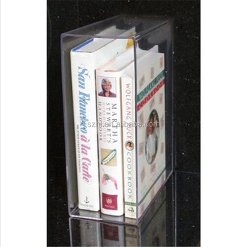 factory directly customized clear acrylic magazine holder / custom plexiglass cardboard brochure holders made in China