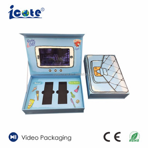 Cote 6.0 Inch Cosmetic LCD Colorful Video Box for Promotion
