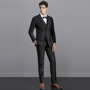 Traditional Design Formal Business / Wedding Best Man Suits Three ...