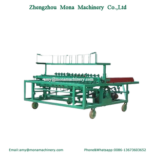 Multifunction reed / straw / grass weave machine/straw mat knitting machine