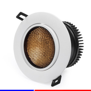 Besun special honey comb led light 48mm dim to warm cob downlight with Eaglerise Driver