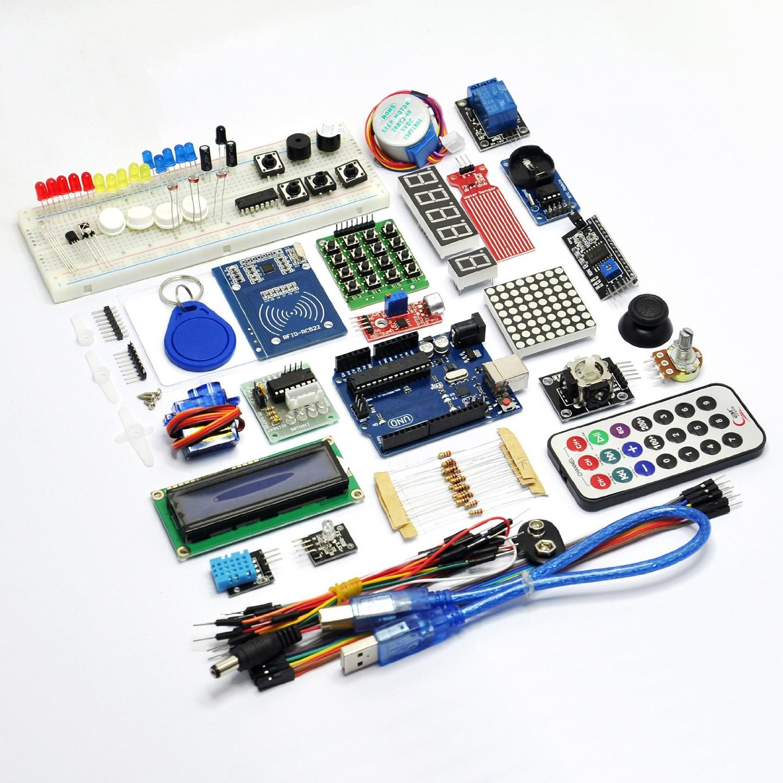 Gikfun RFID Starter Learning Kit with UNO R3 Water Sensor LCD Servo for Arduino EK8387