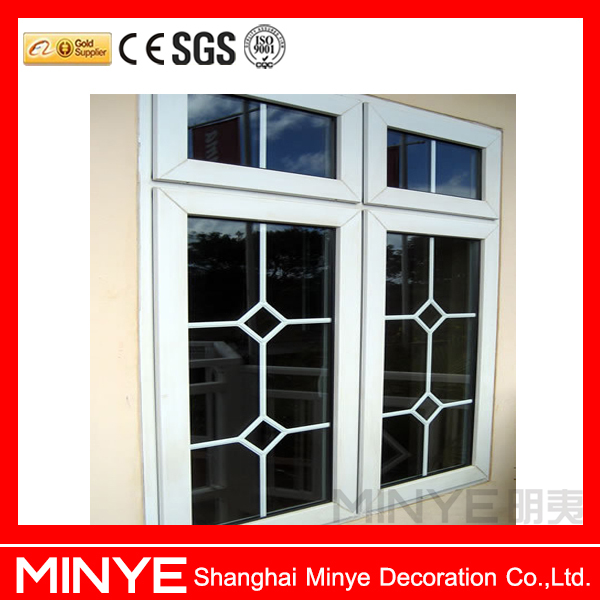 europe style lowest price aluminum casement window grill aluminum