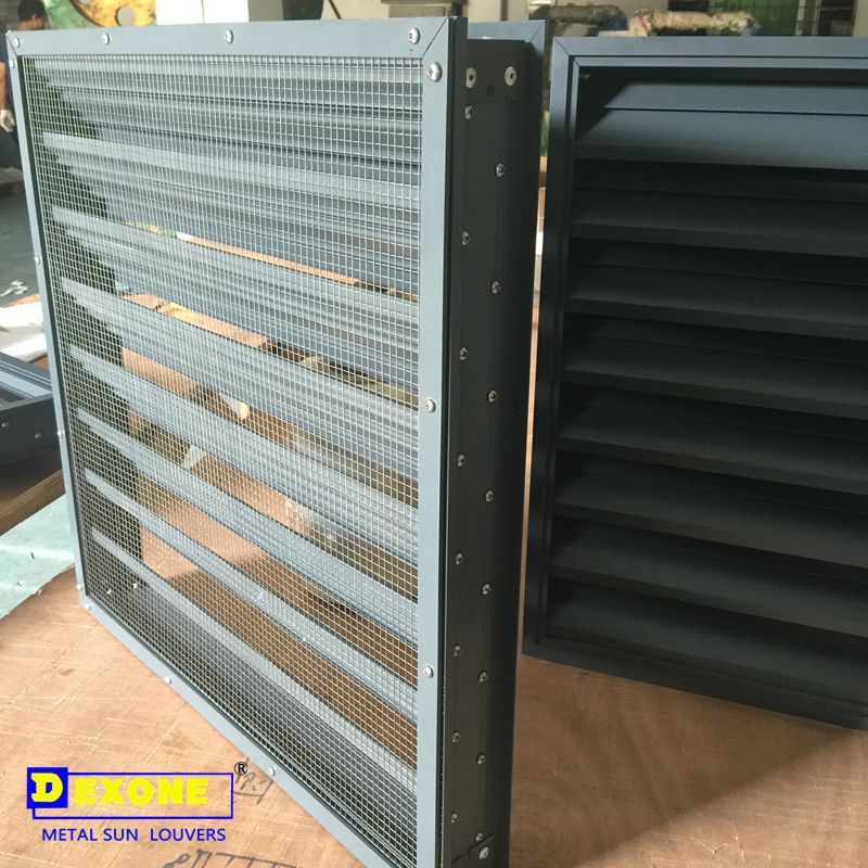 Aluminum hurricane shutter for window aluminum storm louver system manufacturers