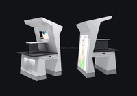 Alibaba Online Skin Care Retail display cabinet Shop With Acrylic Display Rack