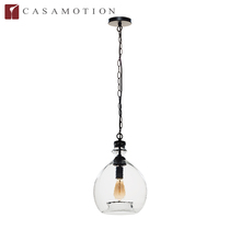 CASAMOTION 2016 Top Sale Wholesale Factory Supply Decorative Hanging Mouth Blown Art Glass Bubble Pendant Light