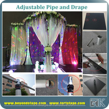 Crystal/acrylic beads wedding decor backdrops with wedding planner