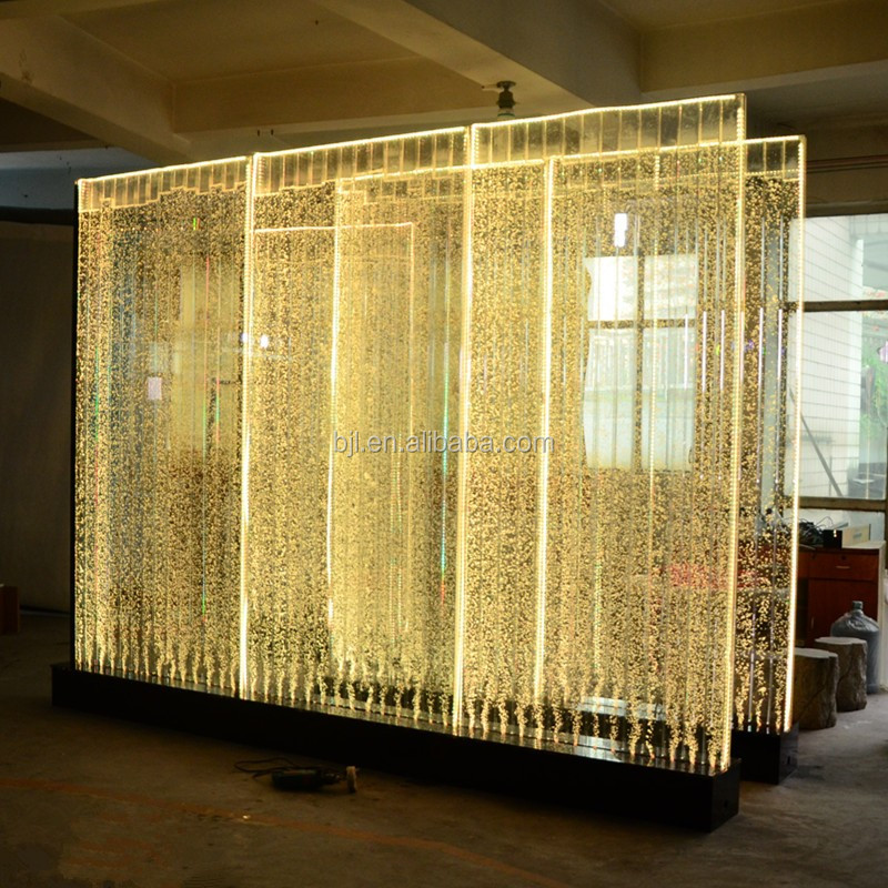 Restaurant Luxury Decoration Water Wall Wedding Backdrop
