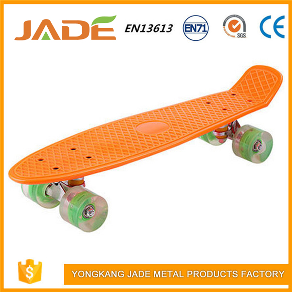High evaluation ABEC 7 bearing high stainless steel wholesale plastic skateboards