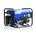 BISON China 5KW Portable honda Single Phase 6500 Gasoline Generator 5kva honda generator prices