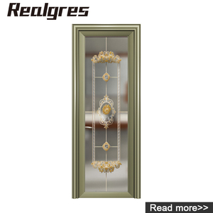 RS-50 Beautiful Hotel Lobby Entrance Doors From China Supplier