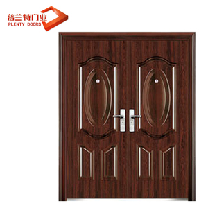 Modern simple double door steel designs