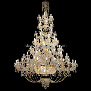 Extra large elegant odeon chandelier crystal lighting for hotel projects lighting 81033