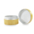 30g bamboo aluminum jar inside with bamboo lids for cosmetic cream container wholesales