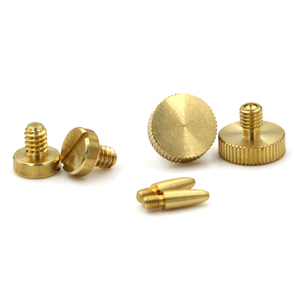 Customized high quality brass m2 small/micro kunrled head metric screws for jewelry