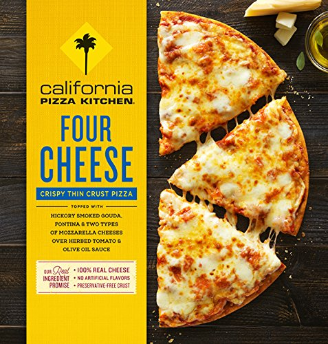 Get Quotations · California Pizza Kitchen, Crispy Thin Crust, Four Cheese,  13.5 Oz. (14