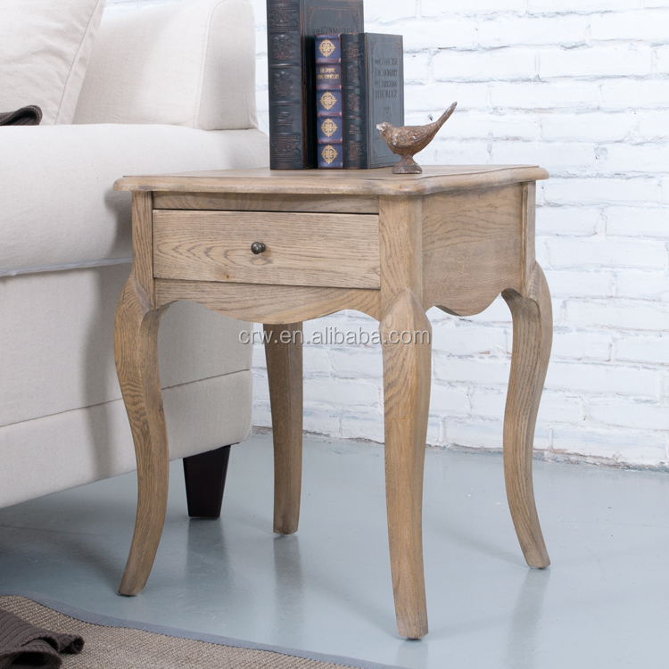 Bt-1501 Cheap Antique Furniture French Solid Wood Bedside Table ...