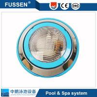 Remote control wall hung swimming pool under water light led pool light with fashion housing