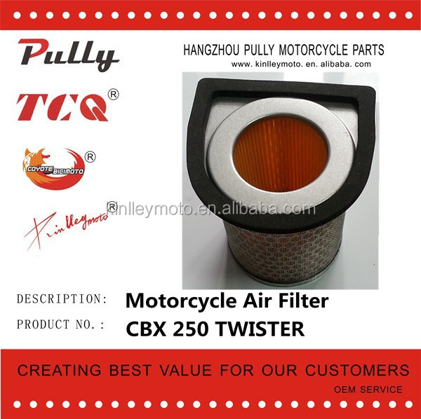 Motorcycle Parts CBX 250 TWISTER Universal Filter Air For Motorcycle