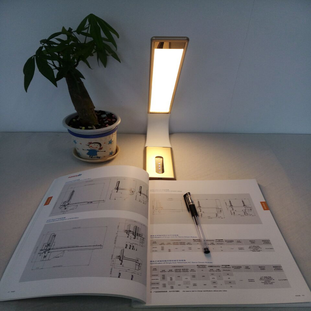 Rechargeable modern type dimmable LED reading Lamp anywhere