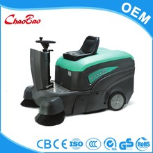 Top quality driving type easy home rechargeable cordless sweeper sweeping machine
