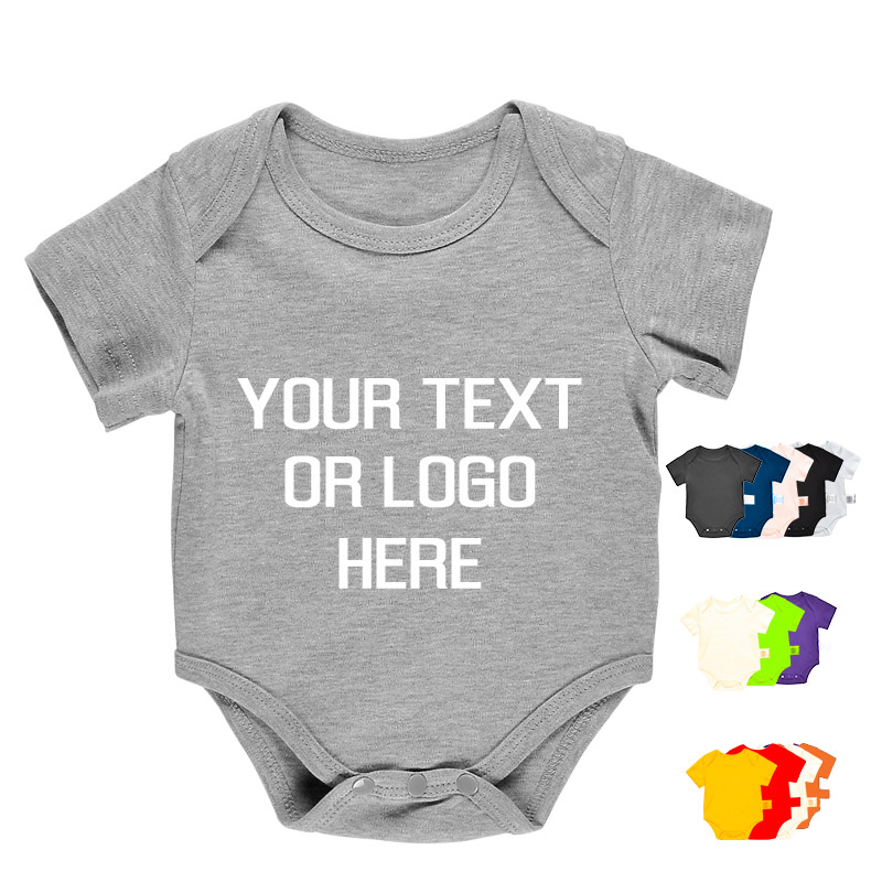 eca00c1b7 China Newborn Infant Wear Clothes Wholesale Cotton Design Your Own Custom  Baby Grow Bodysuit