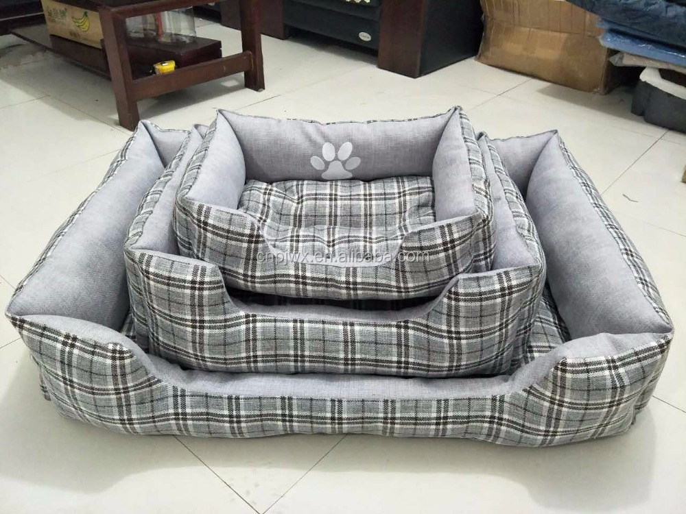 cheap linen Dog SOFA Bed or Pets Bed Cat