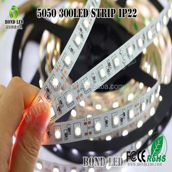 Blister Pack Flexible LED Strip light Set 5meter RGB 5050 30led/m 36w IP20 DC12V + RGB IR Remote controller + 36w 12v Adapter