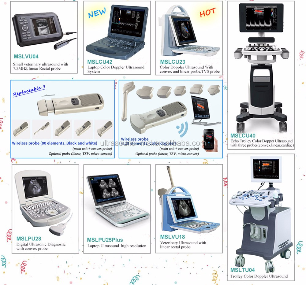 Lowest Price Professional Laptop Portable Best Ultrasound