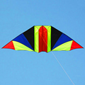 free shipping high quality 3m rainbow glider kite with handle line kite games bird kite weifang