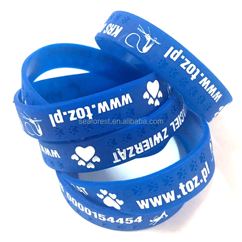 new debossed silicone wrist bands, personalized scented silicone bracelet, thin rubber silicone wristband