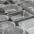 Safety aluminum foil packaging container/disposable tray