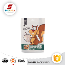 Custom patato chips dried frozen food plastic packaging printed chips snack bag