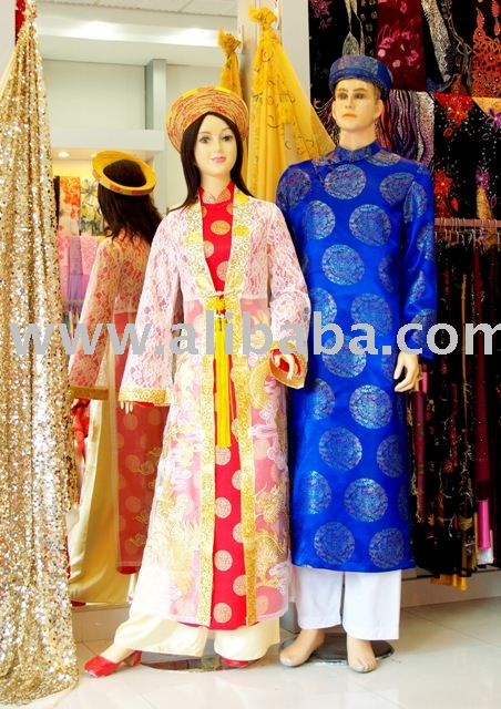 Wedding Ao Dai Vietnam Dres For Her And Him No 3 Product On Alibaba