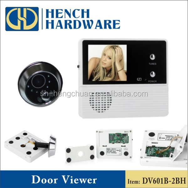Doorbell & nightvision door viewer camera