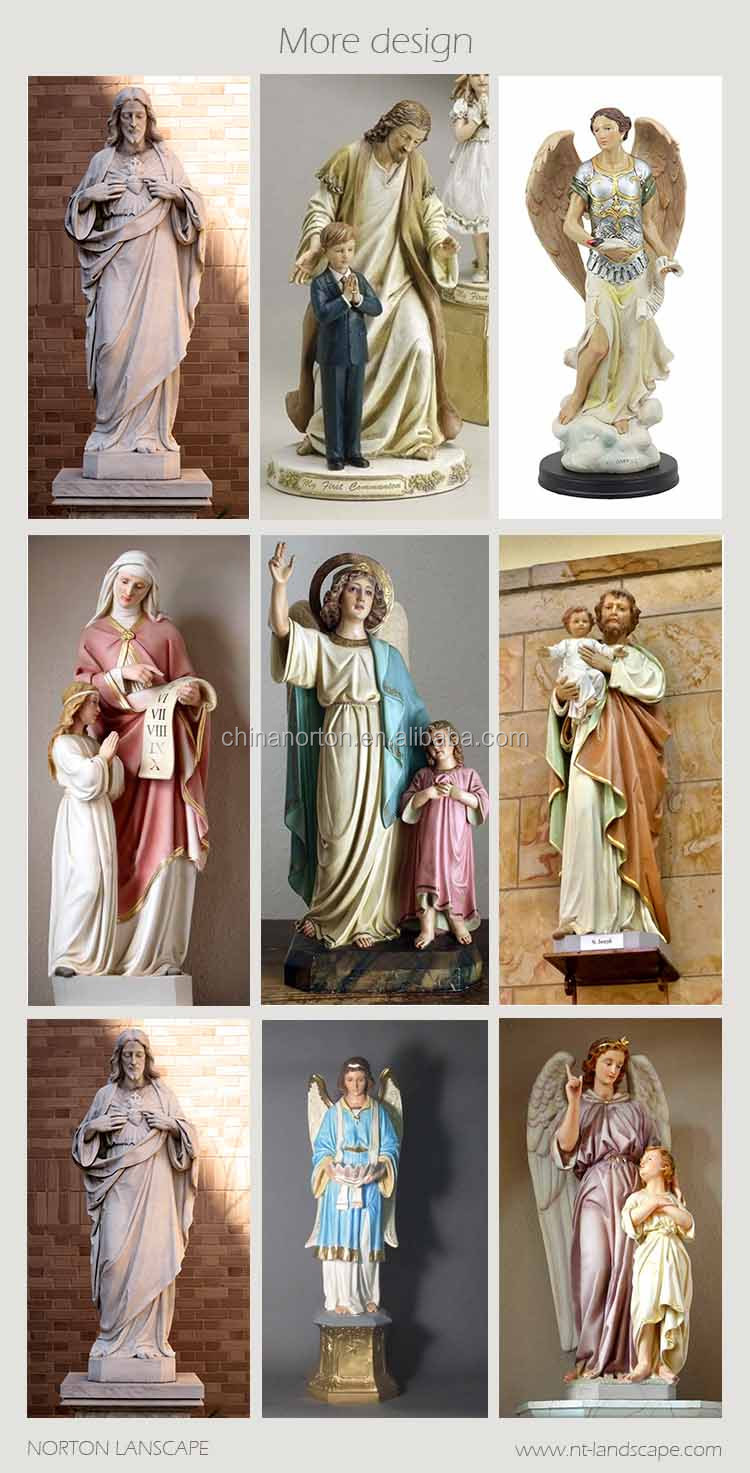 Holy believer prayer resin jesus statue for church decoration NT--FS294J