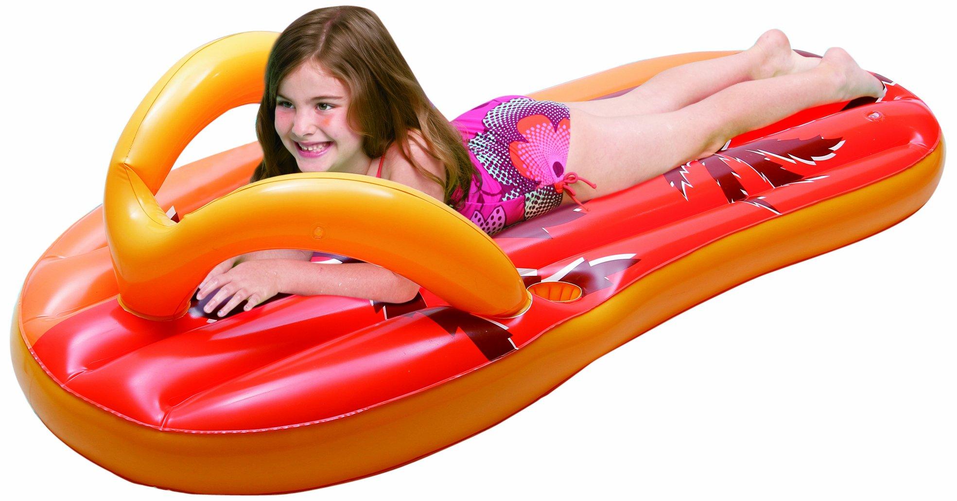 4652e24147c Get Quotations · Blue Wave Tropical Flip Flop Inflatable Pool Float