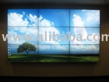 Video Wall - 3x3 Cinemassive Ultraslim Lcd Video Wall - Buy Video Wall  Product on Alibaba com
