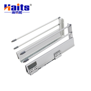 Extension Drawer Slide Rail Soft Close Double Wall Metal Box Mepla Drawer Slide Full Extension Drawer Slide Guangzhou