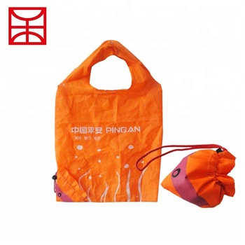 54fb50a247 190t Lovely Carry Reusable Foldable Polyester Shopping Bag - Buy ...