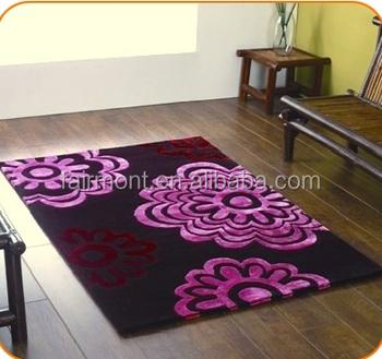Wool Design Pattern Handmade Rugs O02