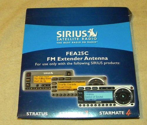 Sirius Satellite Radio FEA25E FM Extender Antenna