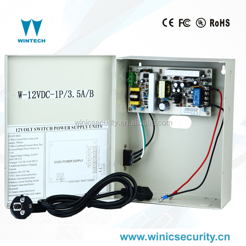 12V 1ch UPS battery backup cctv function for camera power supply