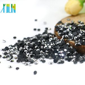 Silver DMC Hotfix Rhinestones Wholesale Hot Fix Rhinestone For Iron On Crystal Design, SB-XS070-Silver Hematite