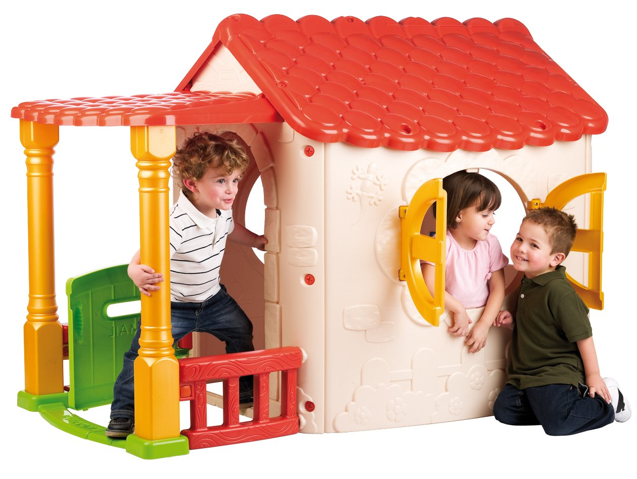 ECR4Kids Lake Cottage Children's Play House