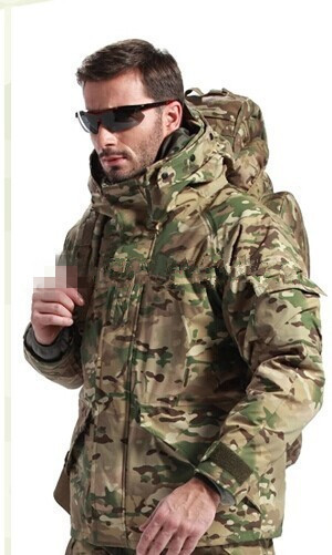 new design Wholesale Men Winter army light warm coats